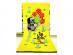 Osuška Krteček a květiny