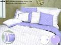 A Akce 2+2 Entuzia 2x Krep 140/200,70/90 + 2x povlak volán Lavender puntík
