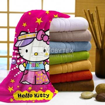 Osuška Hello Kitty star