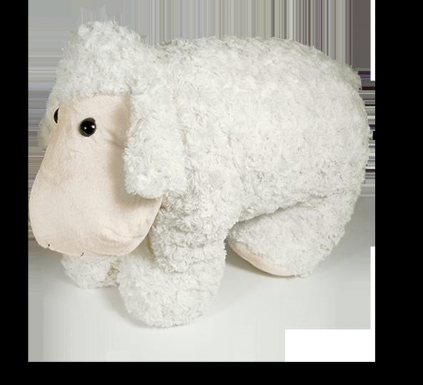Plyšák na knoflíky Ovce 87x60