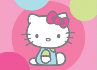 Osuška Hello Kitty Baloons