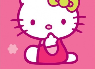 Osuška Hello Kitty Playa
