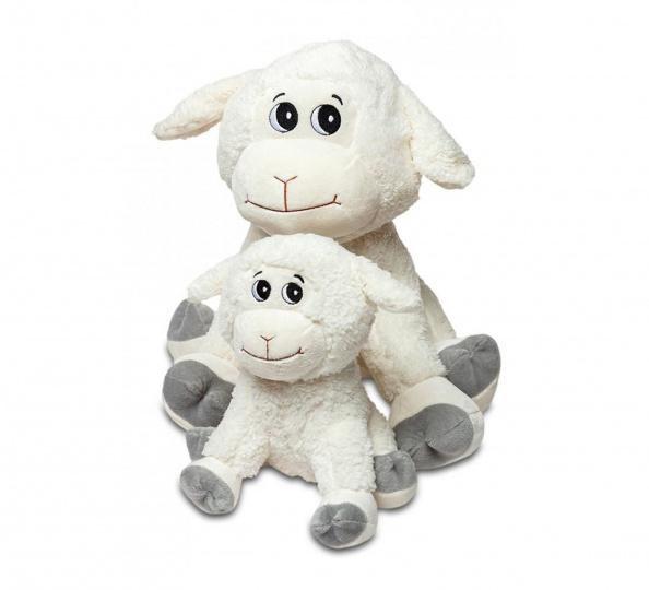 Plyšák Roztomilá ovečka Bílá velká
