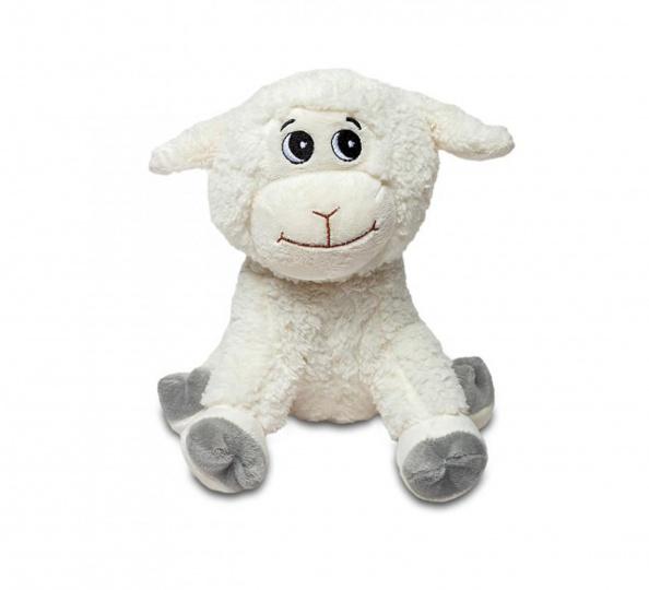 Plyšák Roztomilá ovečka Bílá malá 25cm