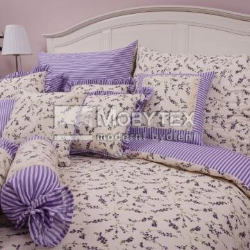 Kytička levandule/fialový proužek