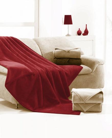 Deka MA Ruby 160x220 Červená
