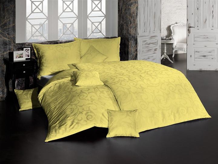 Damašek Lolita světle žlutá