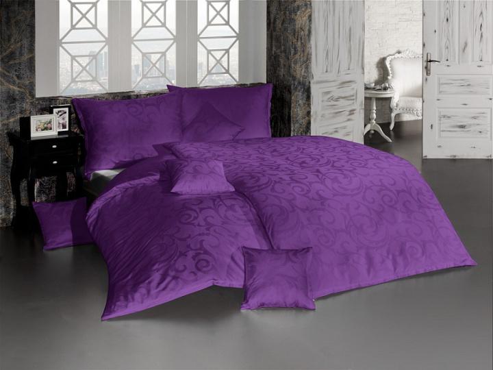 Damašek Lolita tmavě fialová