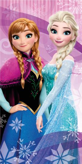 Osuška Ledové království-Frozen Pink 03JF