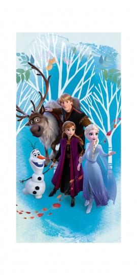 Osuška Ledové království-Frozen blue