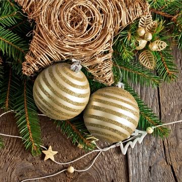 Prostírání Matějovský Vánoce zlaté