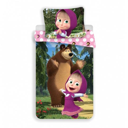Máša a Medvěd v lese