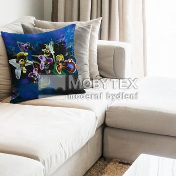 Dekorační povlak Blue Orchid
