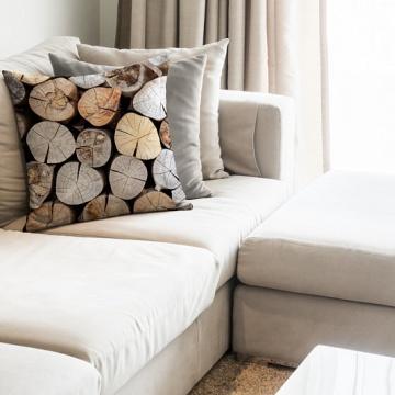 Dekorační povlak Logs