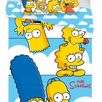 Simpsons family Clouds