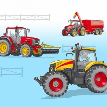 Prostírání Matějovský Traktor