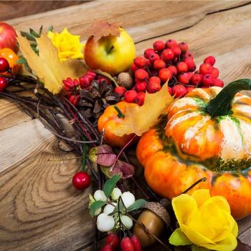 Prostírání Matějovský Podzimní věnec