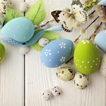 Prostírání Matějovský Velikonoce - vajíčka