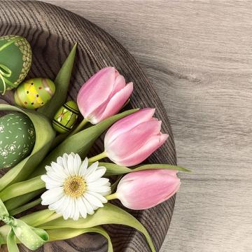 Prostírání Matějovský Velikonoce - stylové