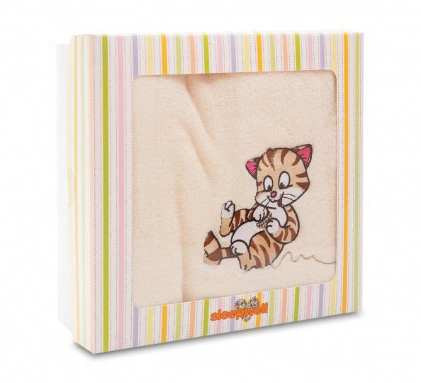 Dětská deka SLEEP WELL mikro v kazetě Kočička