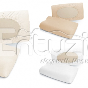 Povlak na anatomický polštář DELUXE Mako-Jersey s lycrou