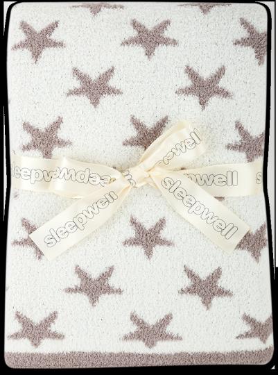 Dětská deka mikrovlakno LUXURY Hvězdičky