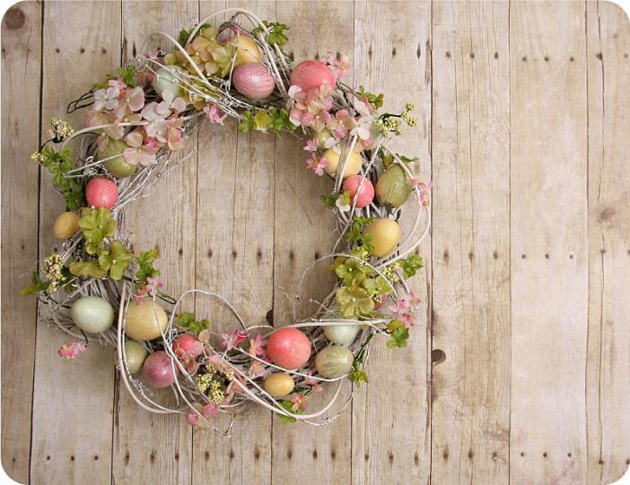 Prostírání Matějovský Velikonoce - věnec