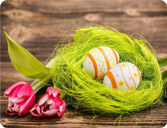 Prostírání Matějovský Velikonoce - tulipán