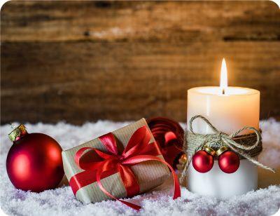 Prostírání Matějovský Vánoce Svíčka