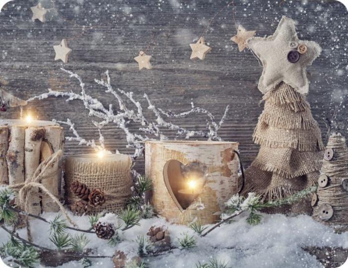 Prostírání Matějovský Vánoce dekor