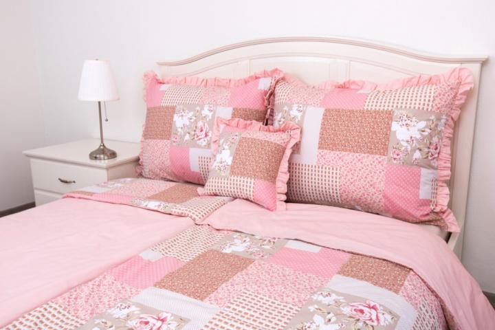 020 Patchwork růžový/UNI pink