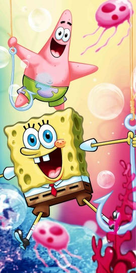 Sponge bob 012 osuška
