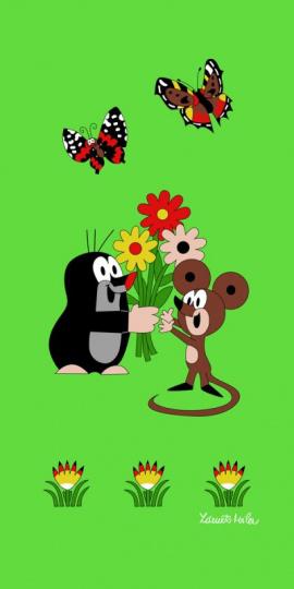 Osuška Krtek a myška