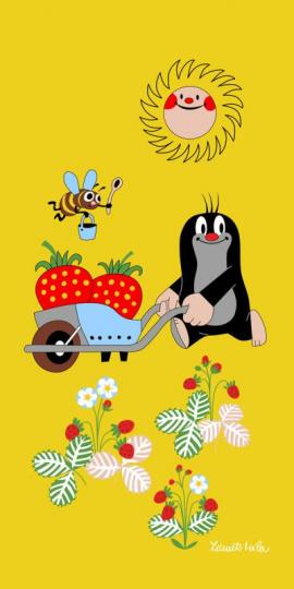Osuška Krtek zahradníkem