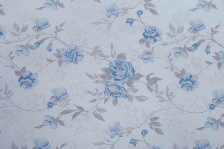 Metráž 019 růže modrá